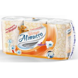 Almusso Bravo Decor ręcznik papierowy pomarańczowy 3 szt.