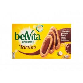 belVita Breakfast Chocolate-Hazelnut Ciastka zbożowe 250 g (5 x 3 sztuki)