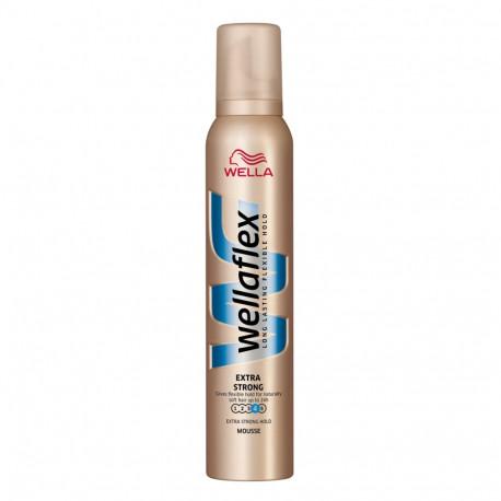 Wella Wellaflex Bardzo mocno utrwalająca pianka do włosów 200 ml