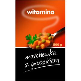 Witamina Marchewka z Groszkiem 500 g