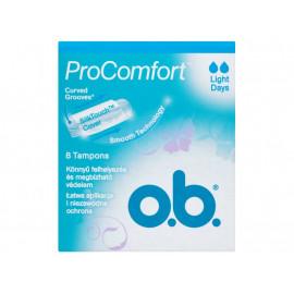 O.B. ProComfort Light Days Tampony 8 sztuk