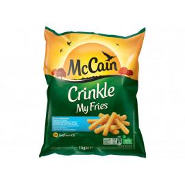 McCain My Fries Crinkle Frytki karbowane do smażenia 1 kg
