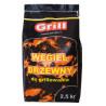 GRILL WĘGIEL DRZEWNY 2,5KG