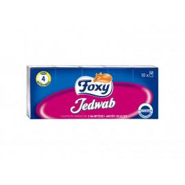 Foxy Jedwab Chusteczki higieniczne 10 x 9 sztuk