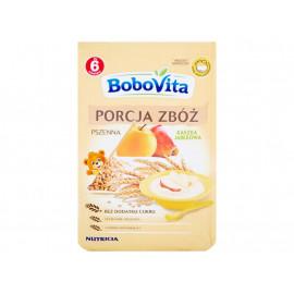 BoboVita Porcja zbóż Kaszka pszenna jabłkowa po 6 miesiącu 170 g