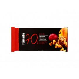 Terravita Czekolada z crunchy i owocami 90 g