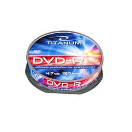 TITANUM DVD-R 4,7GB CAKE10