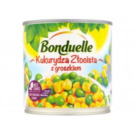 Bonduelle Kukurydza Złocista z groszkiem 340 g