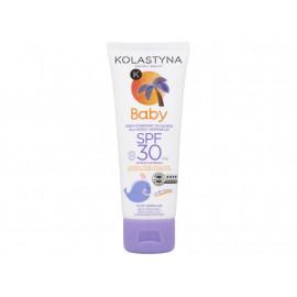 Kolastyna Baby Krem ochronny na słońce dla dzieci i niemowląt od 6 miesiąca SPF 30 75 ml