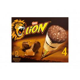 Lion Lody karmelowe i o smaku toffi i ciasteczek 400 ml (4 sztuki)