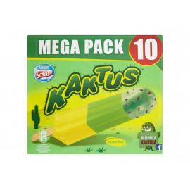 Kaktus Lody wodne o smaku cytrynowym i jabłkowym 450 ml (10 sztuk)