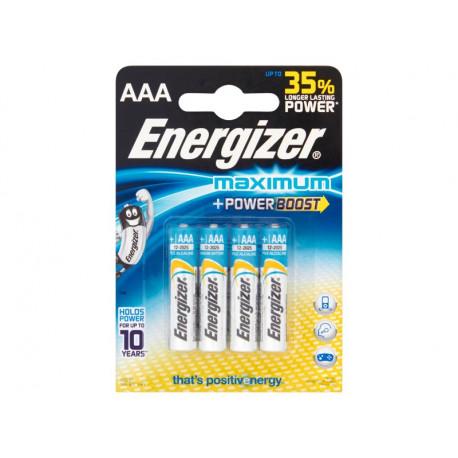 Energizer Maximum AAA-LR03 1,5V Baterie alkaliczne 4 sztuki