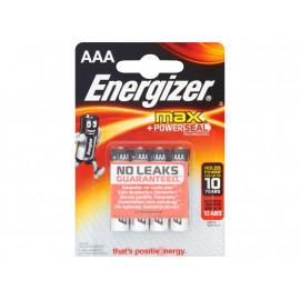 Energizer Max AAA-LR03 1,5V Baterie alkaliczne 4 sztuki