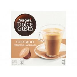 Nescafé Dolce Gusto Cortado Espresso Macchiato Kawa w kapsułkach 100,8 g (16 sztuk)