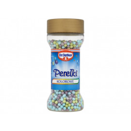 Dr. Oetker Perełki kolorowe 50 g