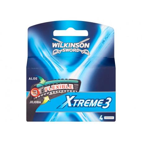 Wilkinson Sword Xtreme3 Wkłady do maszynki 4 sztuki