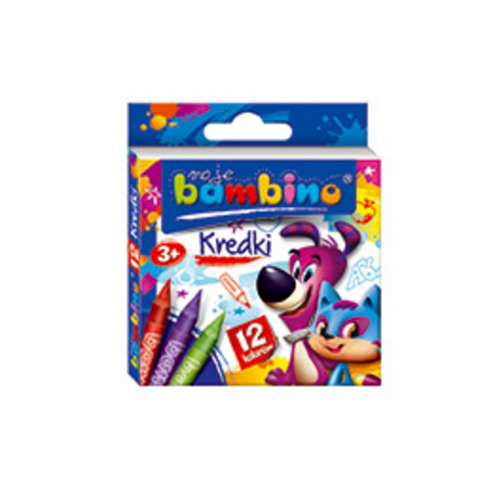 Moje bambino - kredki 12 kolorów