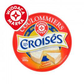 Ser Coulommiers -  Ser miękki, podpuszczkowy, dojrzewający,  pleśniowy z mleka pasteryzowanego. Zawartość tłuszczu ogółem: 23%.