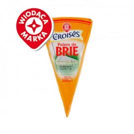 Pointe de Brie – ser podpuszczkowy, dojrzewający pleśniowy z mleka krowiego pasteryzowanego.