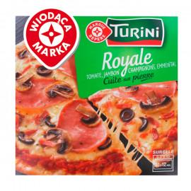 Wiodąca Marka Pizza z szynką, pieczarkami i oliwkami