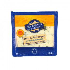 Bleu d'Auvergne* – Ser podpuszczkowy dojrzewający z przerostem niebieskiej pleśni, z mleka pasteryzowanego. Ser wyprodukowany w