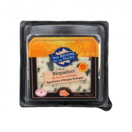 Roquefort – Ser podpuszczkowy dojrzewający z surowego mleka owczego, z przerostem niebieskiej pleśni. Chroniona Nazwa Pochodzeni