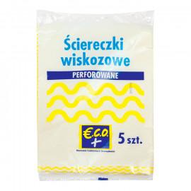 ŚCIERECZKI WISKOZOWE PERFOROWANE 37x51 CM, 5 SZT.