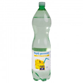 Napój gazowany o smaku cytrynowym