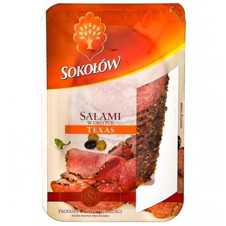SOKOŁÓW SALAMI TEXAS 100G
