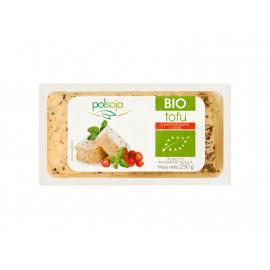 Polsoja BIO Tofu z pomidorami i bazylią 250 g