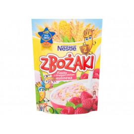 Nestlé Zbożaki Kaszka z chrupiącymi płatkami malinowa 250 g