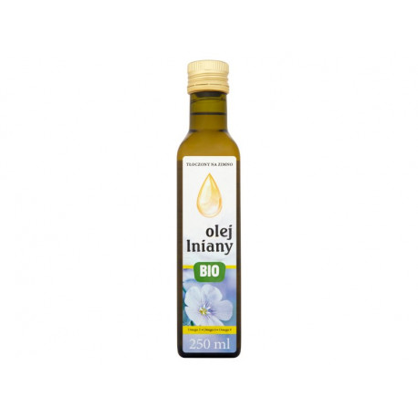 Bio olej lniany 250 ml