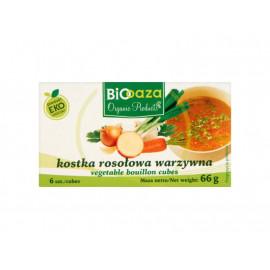 Biooaza Eko Kostka rosołowa warzywna 66 g (6 sztuk)