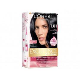 L'Oréal Paris Excellence Creme Farba do włosów 1.01 Głęboka intensywna czerń