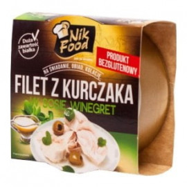 Nik Food Filet z kurczaka w sosie winegret