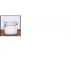 Miód rzepakowy  ceramika biała 0,40 kg.