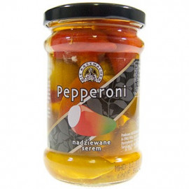 DIE KASEMACHER Pepperoni nadziewane serem, 250g