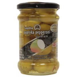 DIE KASEMACHER Łagodna papryka pepperoni nadziewana serem, 250g
