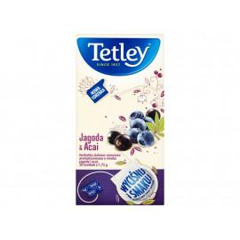 Tetley Jagoda & Acai Herbatka ziołowo-owocowa 35 g (20 torebek)