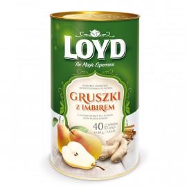LOYD Herbata Gruszka z Imbirem Puszka 80g