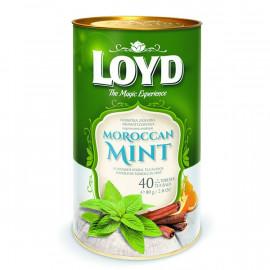 LOYD Mint Moroccan - 40 torebek w puszce (piramidki)