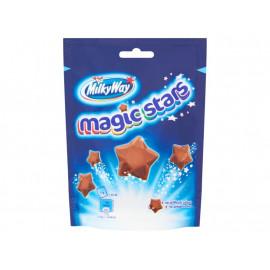 Milky Way Magic Stars Gwiazdki z puszystej mlecznej czekolady 100 g