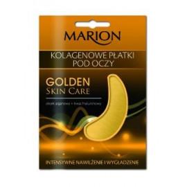 Marion - Golden Skin Care - Kolagenowe PŁATKI POD OCZY z olejkiem arganowym 2szt