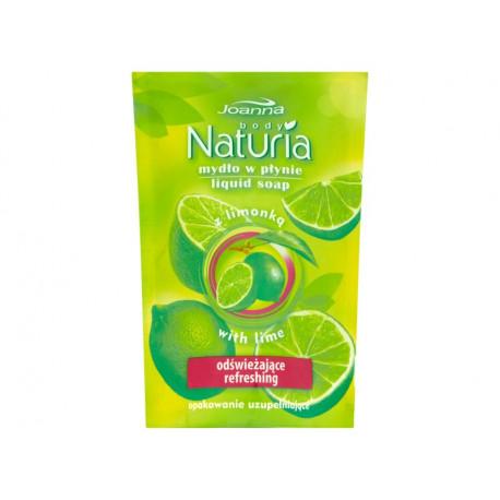 Joanna Naturia body Mydło w płynie z limonką opakowanie uzupełniające 300 ml