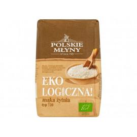 Polskie Młyny Ekologiczna! Mąka żytnia typ 720 1 kg