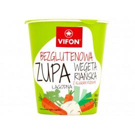Vifon Bezglutenowa zupa wegetariańska z kluskami ryżowymi łagodna 60 g