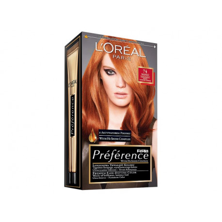 L'Oreal Paris Feria Preference Farba do włosów 74 Mango