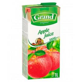 SOK JABŁKOWY 100% z zagęszczonego soku jabłkowego. Produkt pasteryzowany.