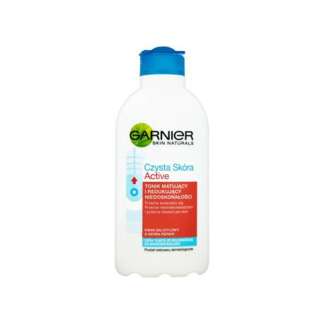 Garnier Czysta Skóra Active Tonik matujący i redukujący niedoskonałości 200 ml