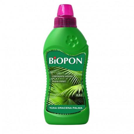 BIOPON Nawóz do yuki, draceny, palmy 0.5l